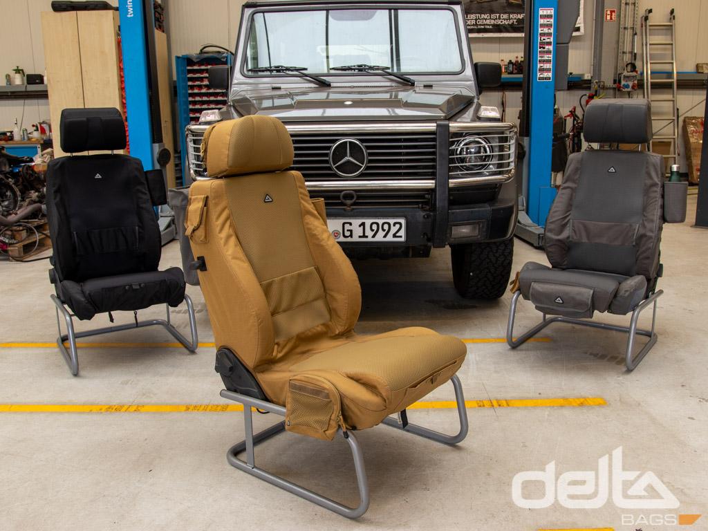 Passenger Seat Cover scheel-mann Sportline LR Edition Farbe Grau