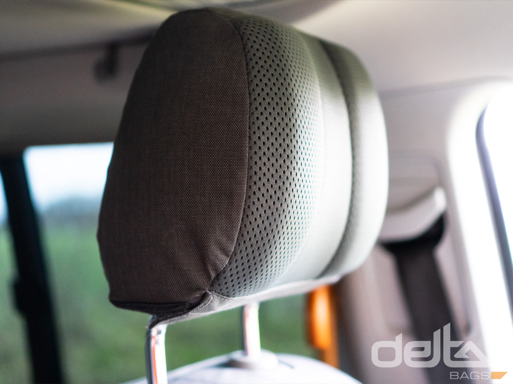 Headrest Cover VW T5/6 California, grünbraun